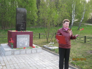 9 мая 2015 года. село Рябчи. Утро Победы.