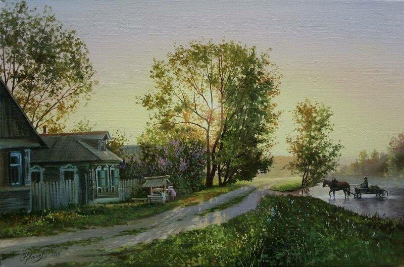 Белорусский художник Олег Чувашев. Нежные пейзажи и натюрморты 0 1110c2 398044cf XL