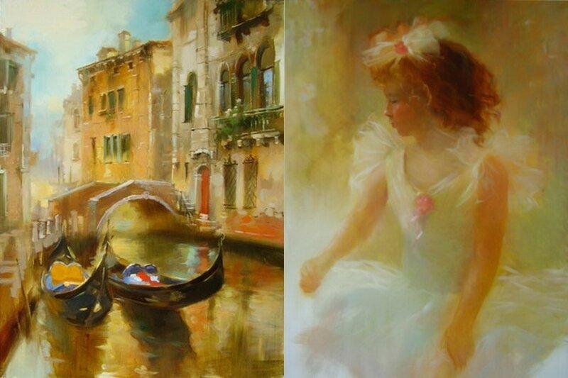 Художница Елена Резаева и ее картины