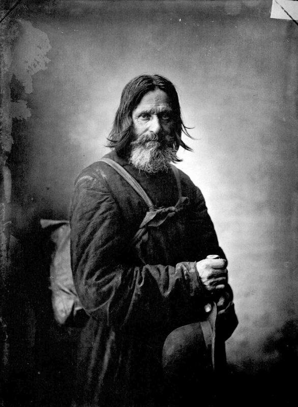 М. Дмитриев. Странник. Конец XIX века