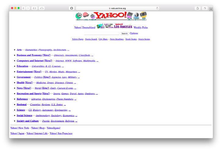 Официальный сайт Белого дома был запущен в 1996 году, позволяющий журналистам находить фотографии, р