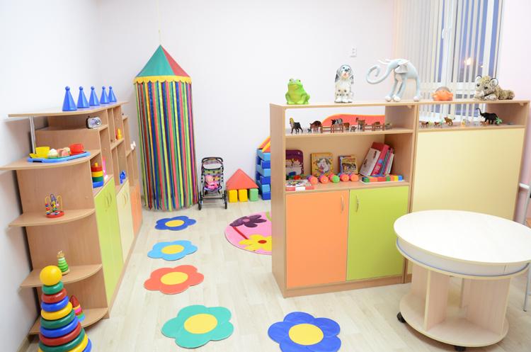 Новый детский сад в мкр. Радужный