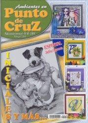 Журнал Ambientes en Punto de Cruz Angeles №48 2005