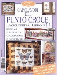 Журнал Susanna. Punto Croce Enciclopedia №11-01