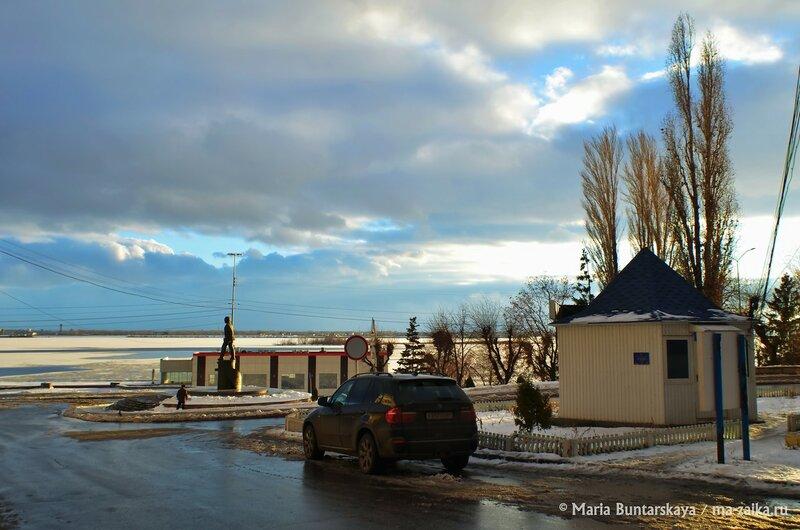 Пейзажики  Саратова, Набережная Космонавтов, 24 декабря 2014 года