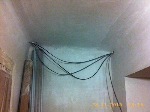 Завтра заштробим этот пучок кабелей