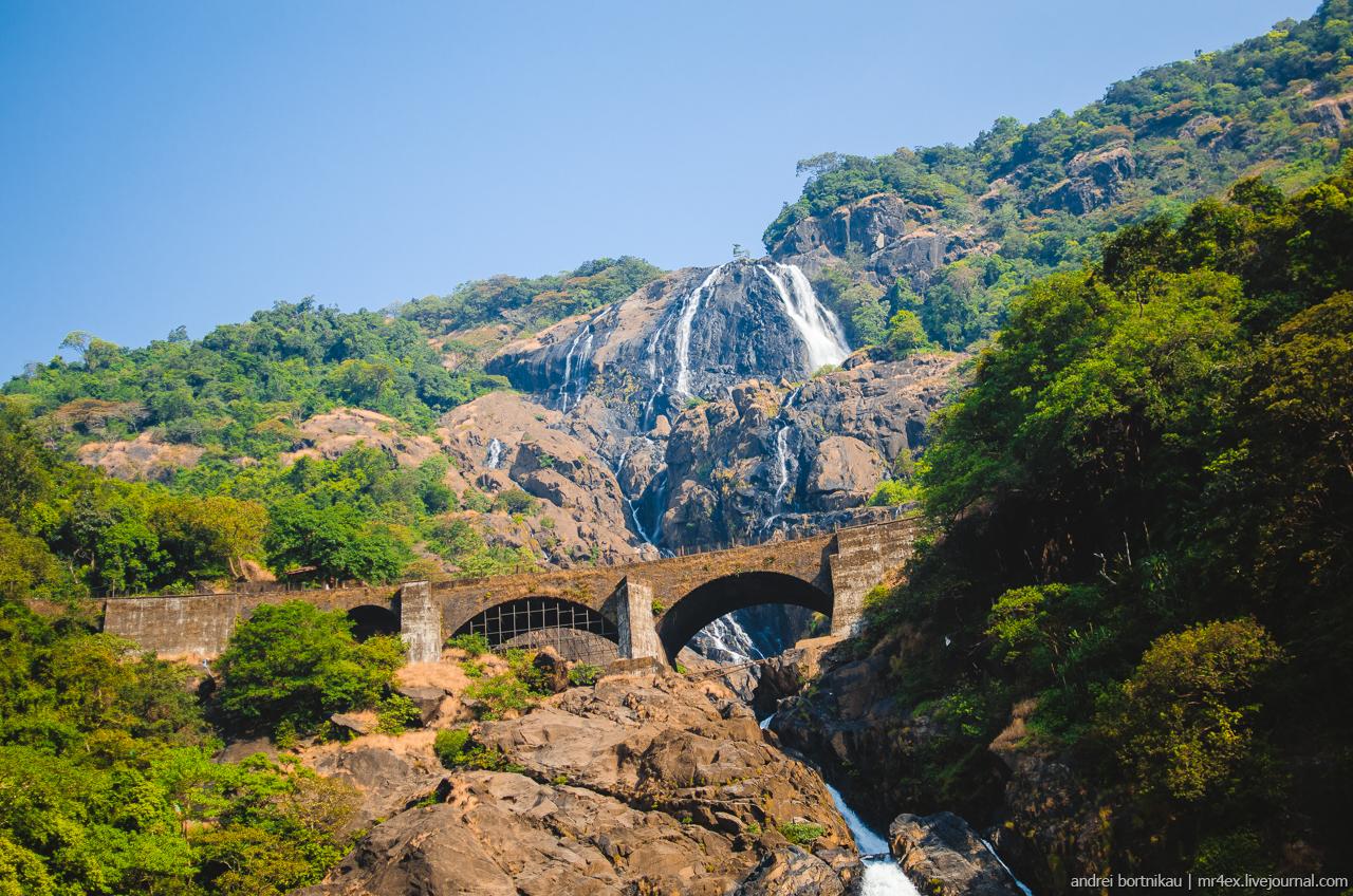 Водопад Дудхсагар, Гоа, Dudhsagar falls