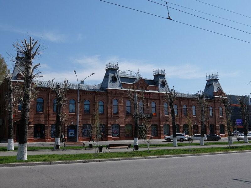 Барнаул - Универмаг Красный