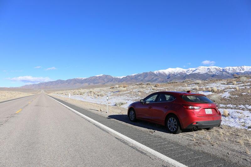 Mazda 3 / The Loneliest Road in America