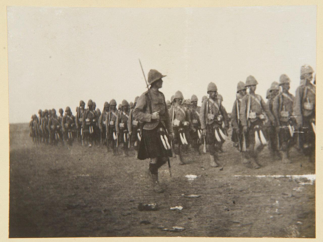 Август 1898. Покидая Вад Хамид. Капитан Маклин и другие