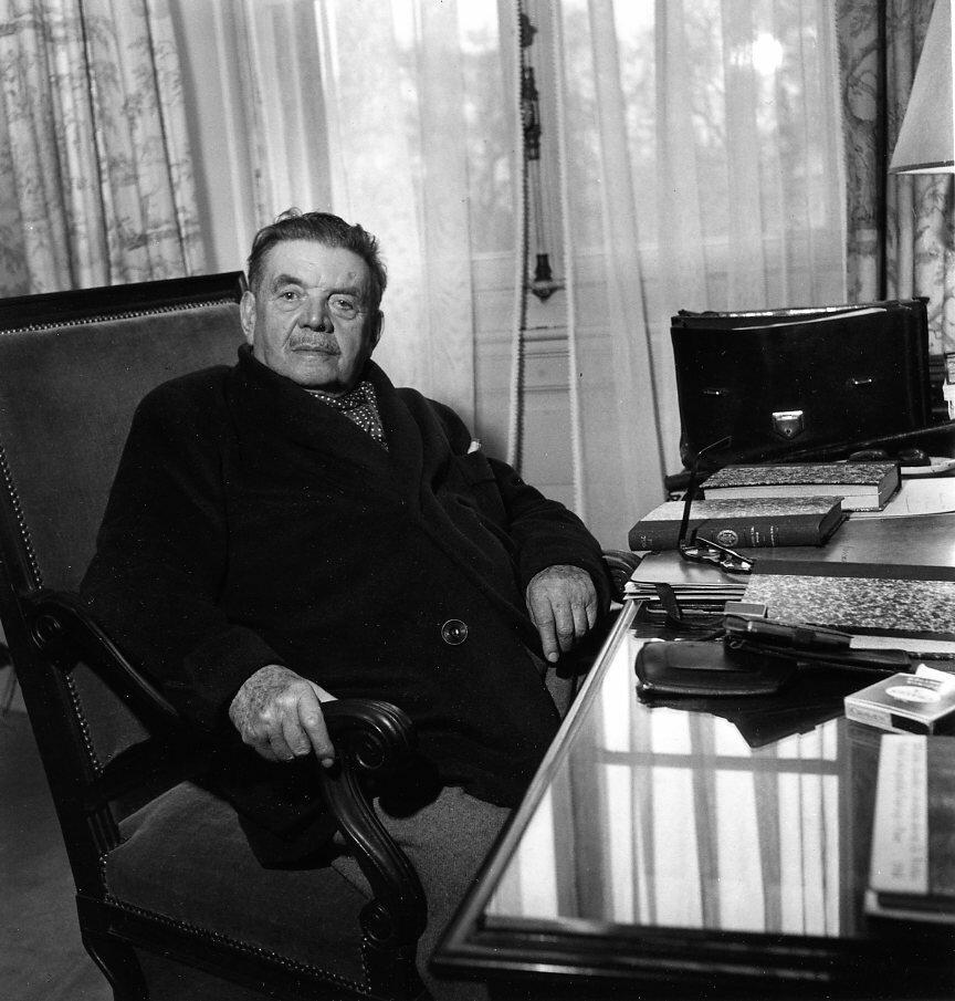 1950. Эдуард Эррио, Лион