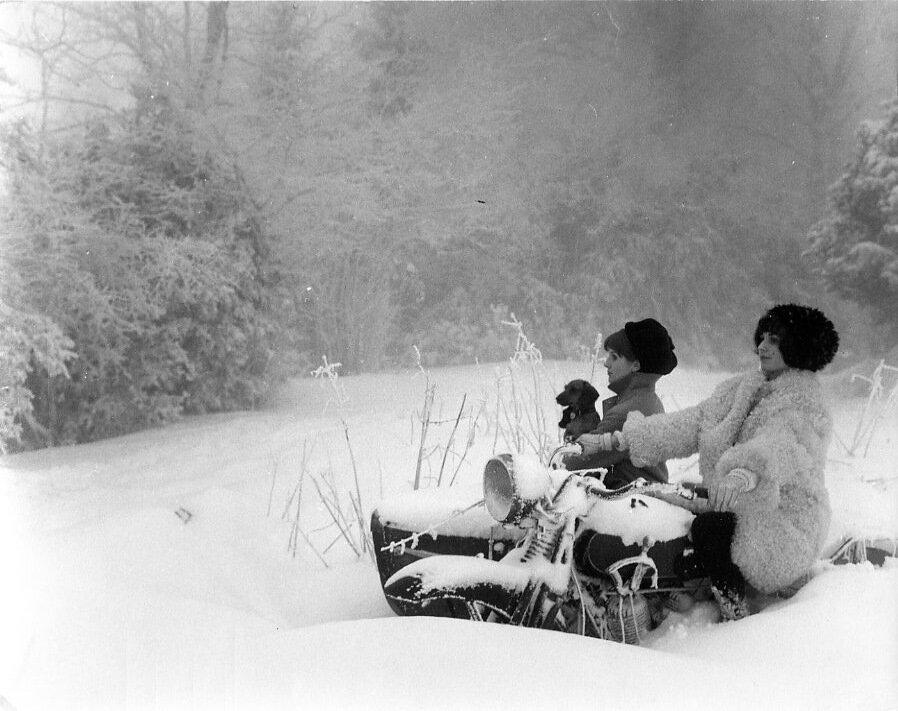 1963. Снег велосипедов Лаффре