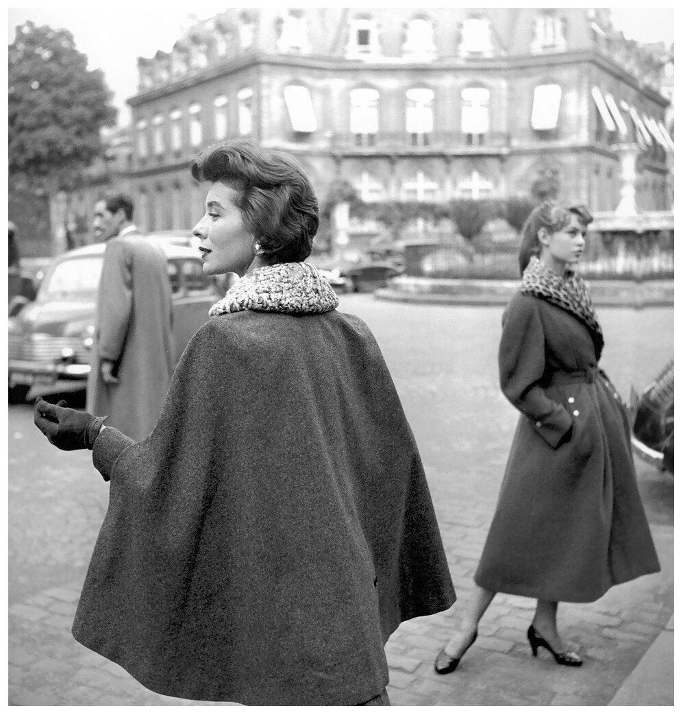 1954. Беттина и Брижит Бардо