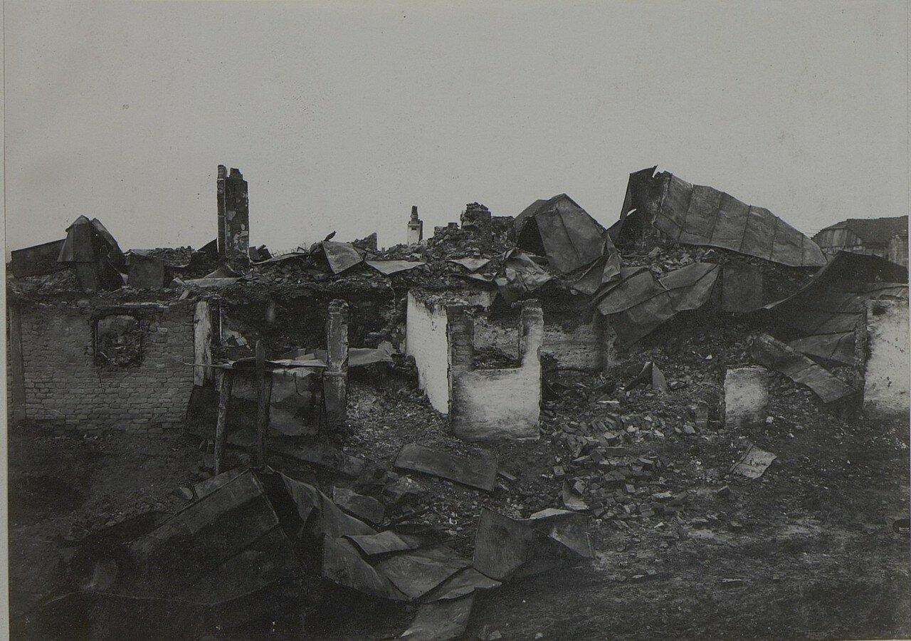 Торговица. Разрушения, причиненные русскими войсками