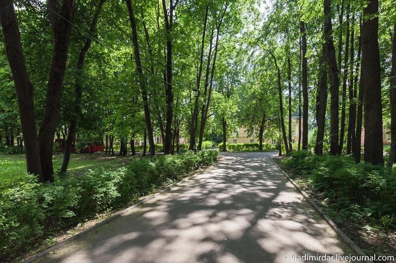 Парк усадьбы Суханово