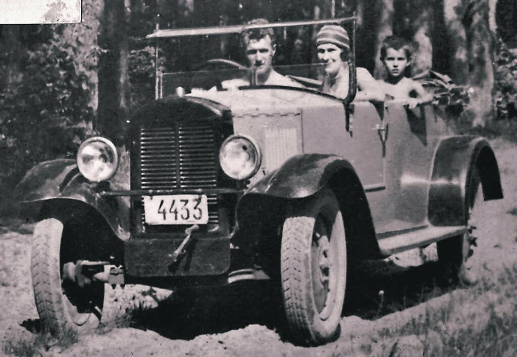 First fully Soviet-made light car, NAMI-1; produced between 1927 and 1930.jpg