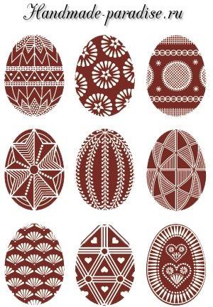 Схемы как рисовать яйцо