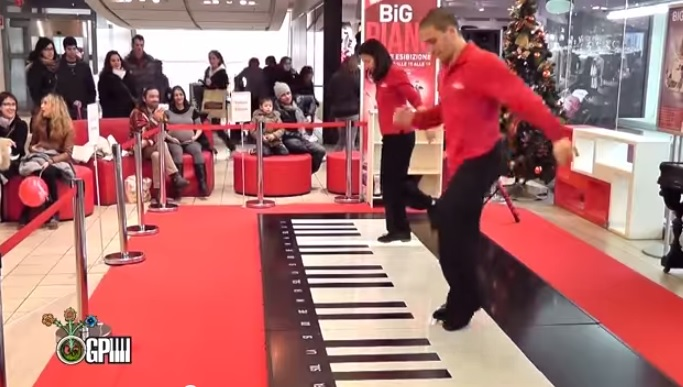 Танцы на пианино