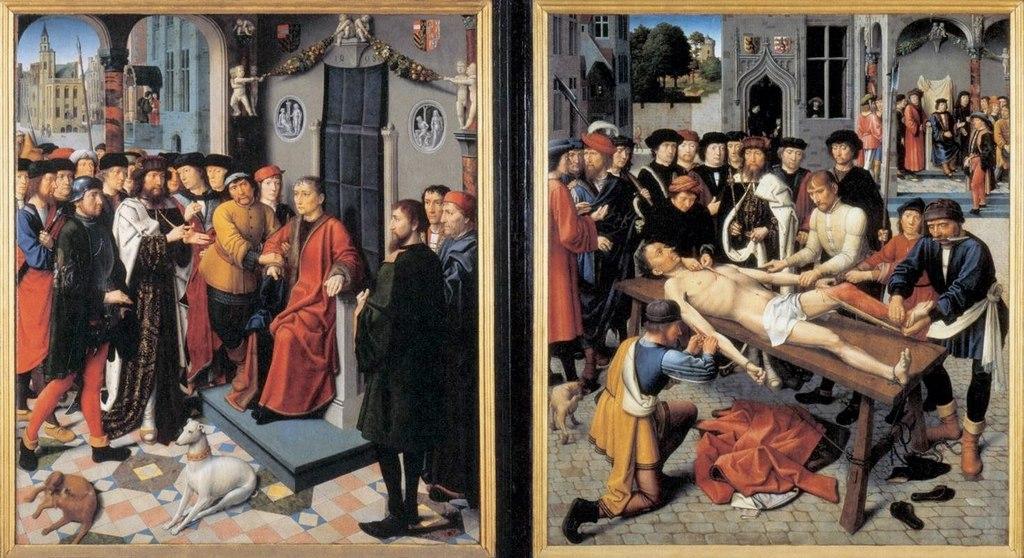 """Жерард Давид. """"Суд Гамбиса"""" 1498"""