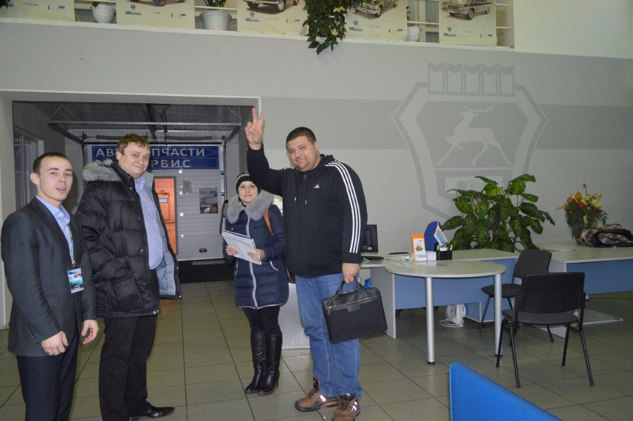 первый клиент сургутского представительства, Газель Некст.jpg