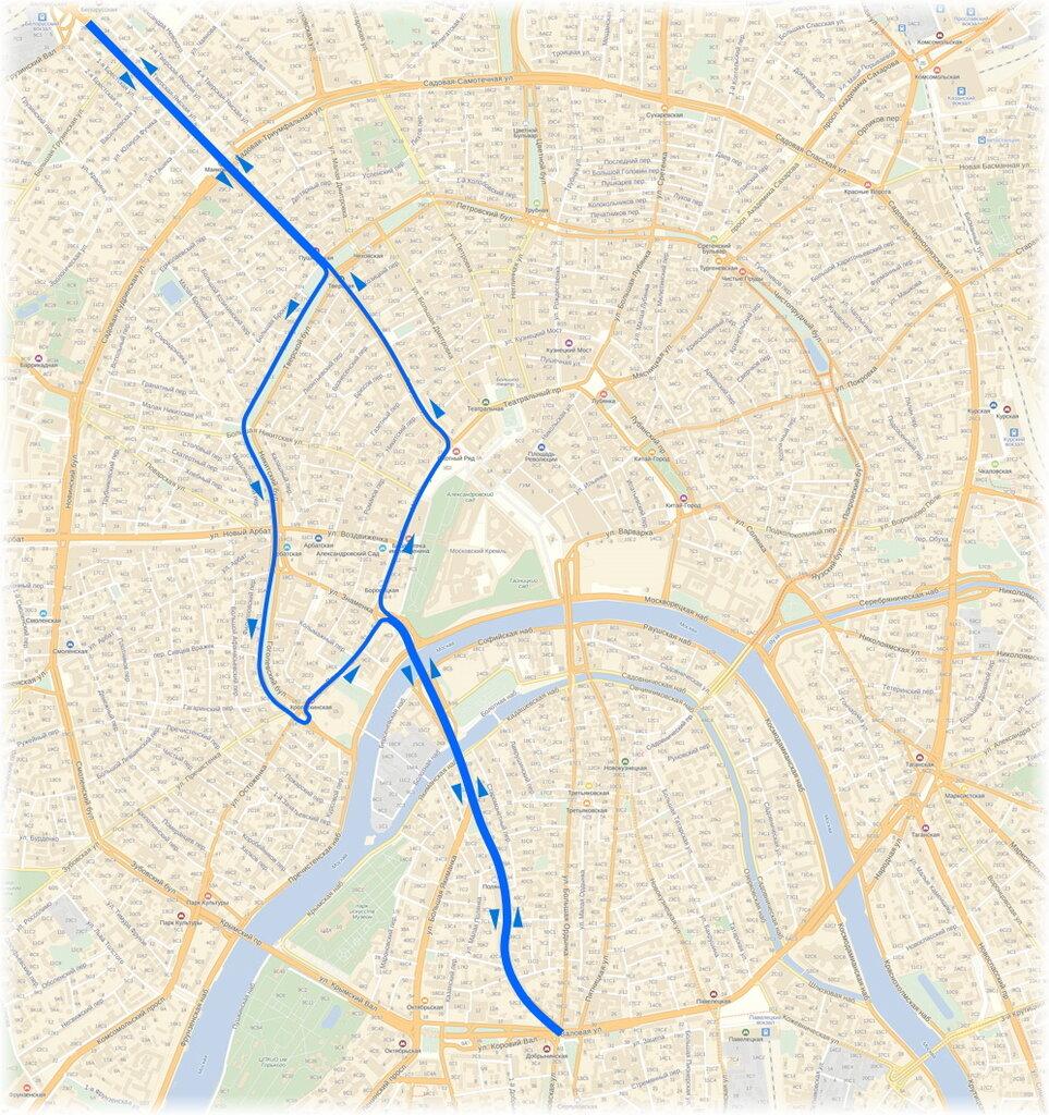 Наземный общественный транспорт схема фото 792