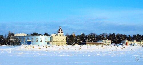 На зимнем берегу Финского залива