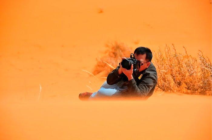 На что готовы смелые фотографы ради хорошего кадра