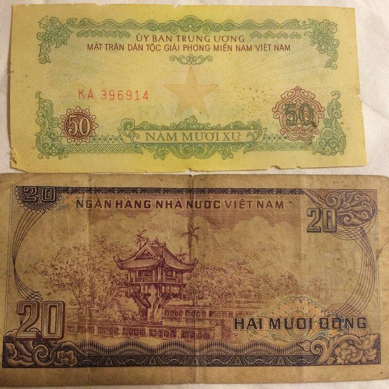 Немного о бонистике и банкнотах Вьетнама.