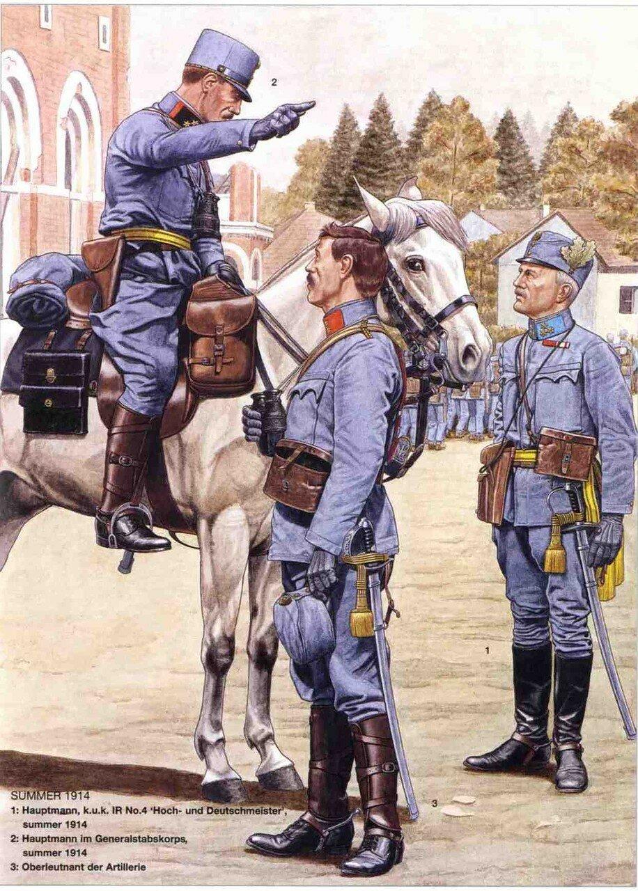 Униформа австро венгерской армии