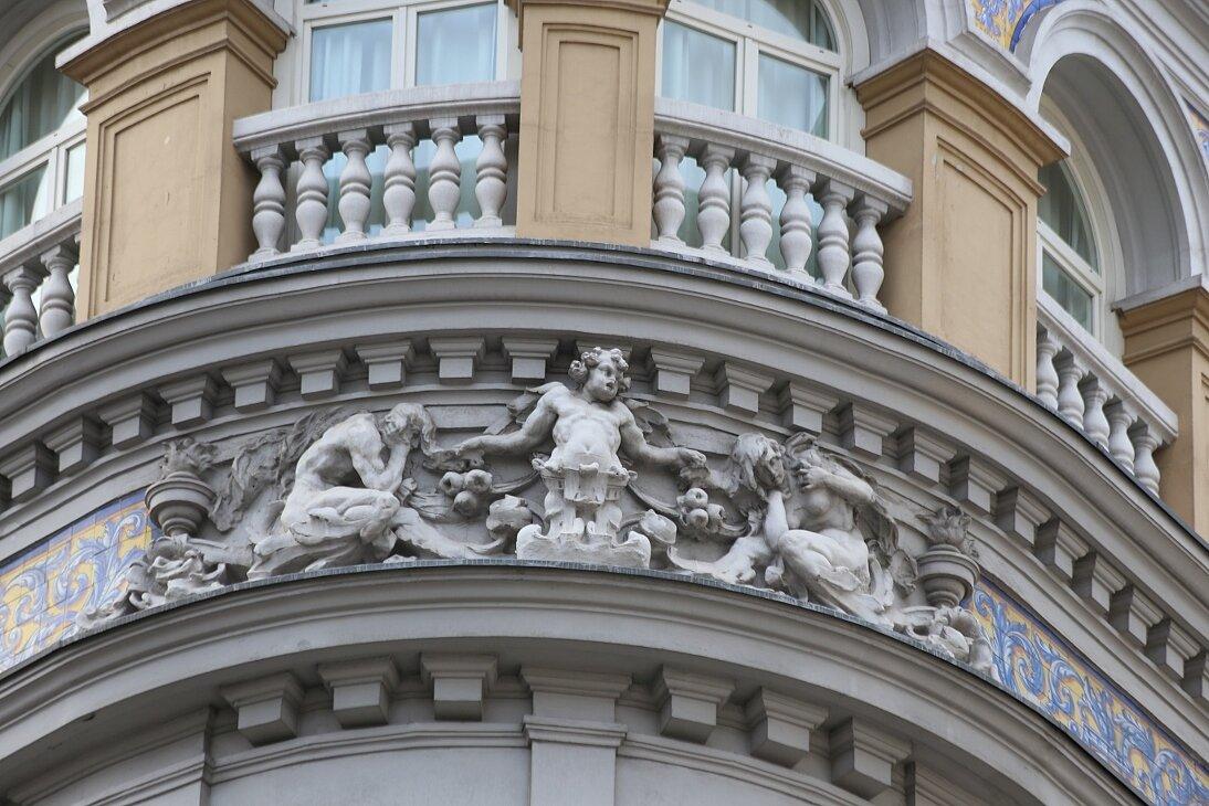 Мадрид. Здание отеля Лас Летрас (Iberostar Las Letras Gran Vía)