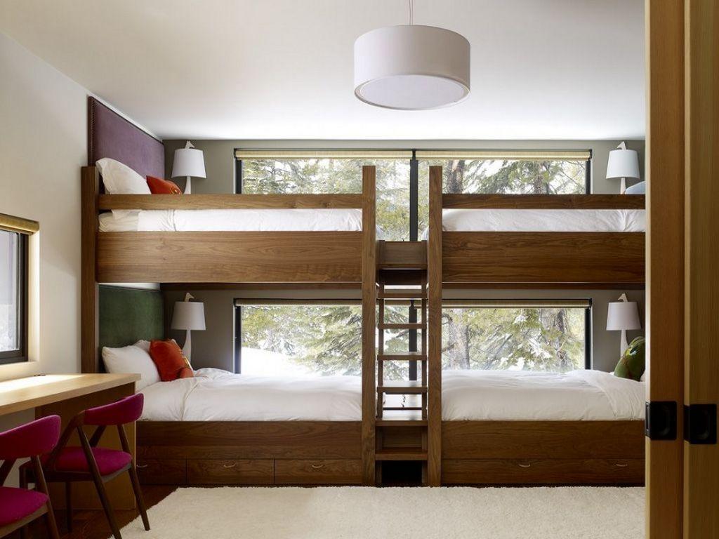 Оригинальные двухъярусные кровати (24 фото)