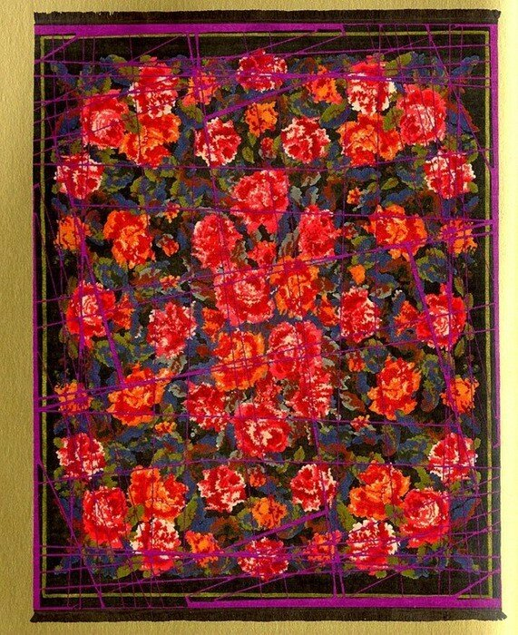 Ян Кат. Немецкие ковры в русском стиле