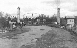 Мост с Кренгольмского острова