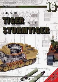 Книга PzKpfw VI Tiger. vol IV. Sturmtiger