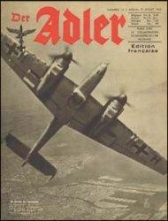 Журнал Der ADLER  № 15 - 27 juillet (июля)  1943