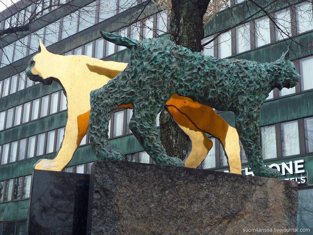 Котка. Городская скульптура.