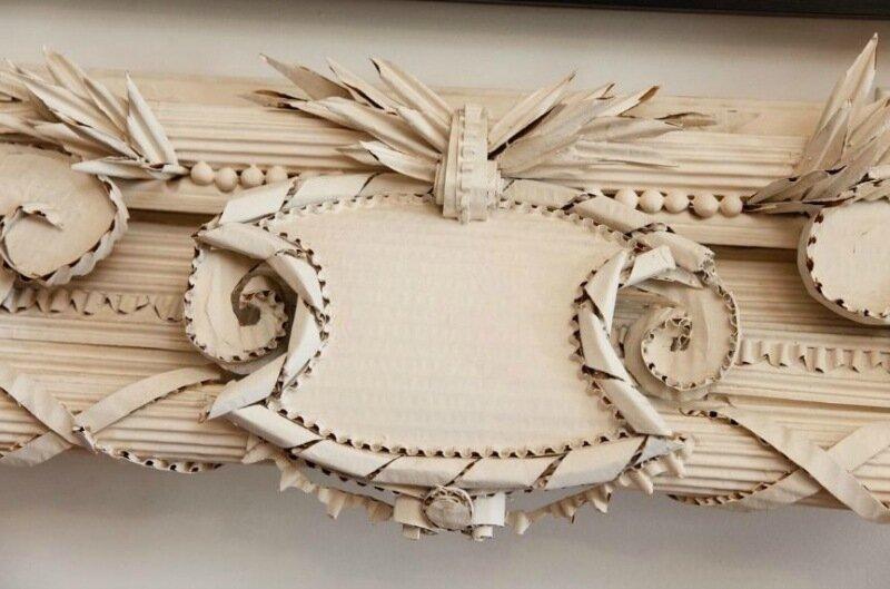 Красивые рамки из картона