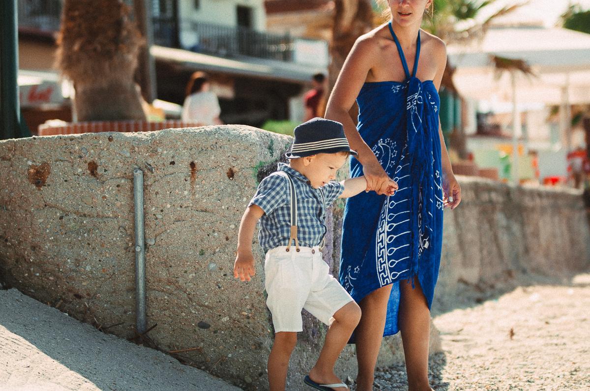 Греция с ребенком, фото