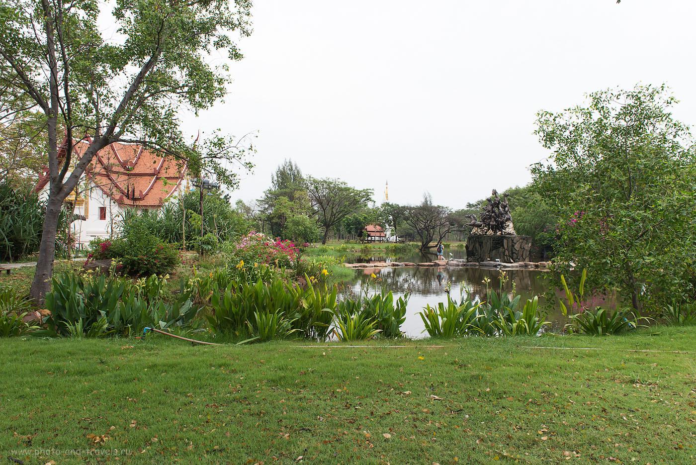 Красивые виды исторического парка Муанг Боран
