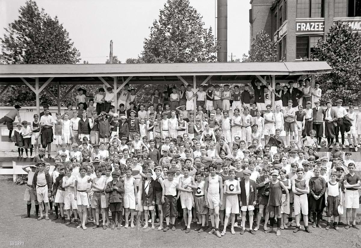 Американские бойскауты начала 20-го века на снимках фотографов (17)