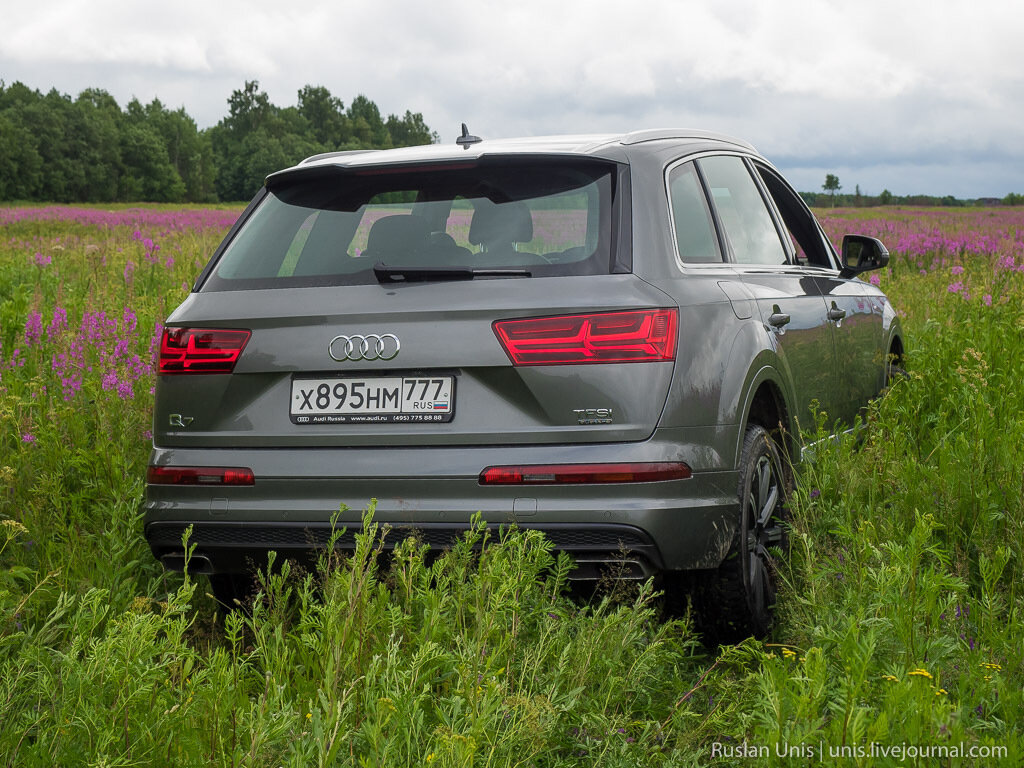 Новый Audi Q7 2015 2016