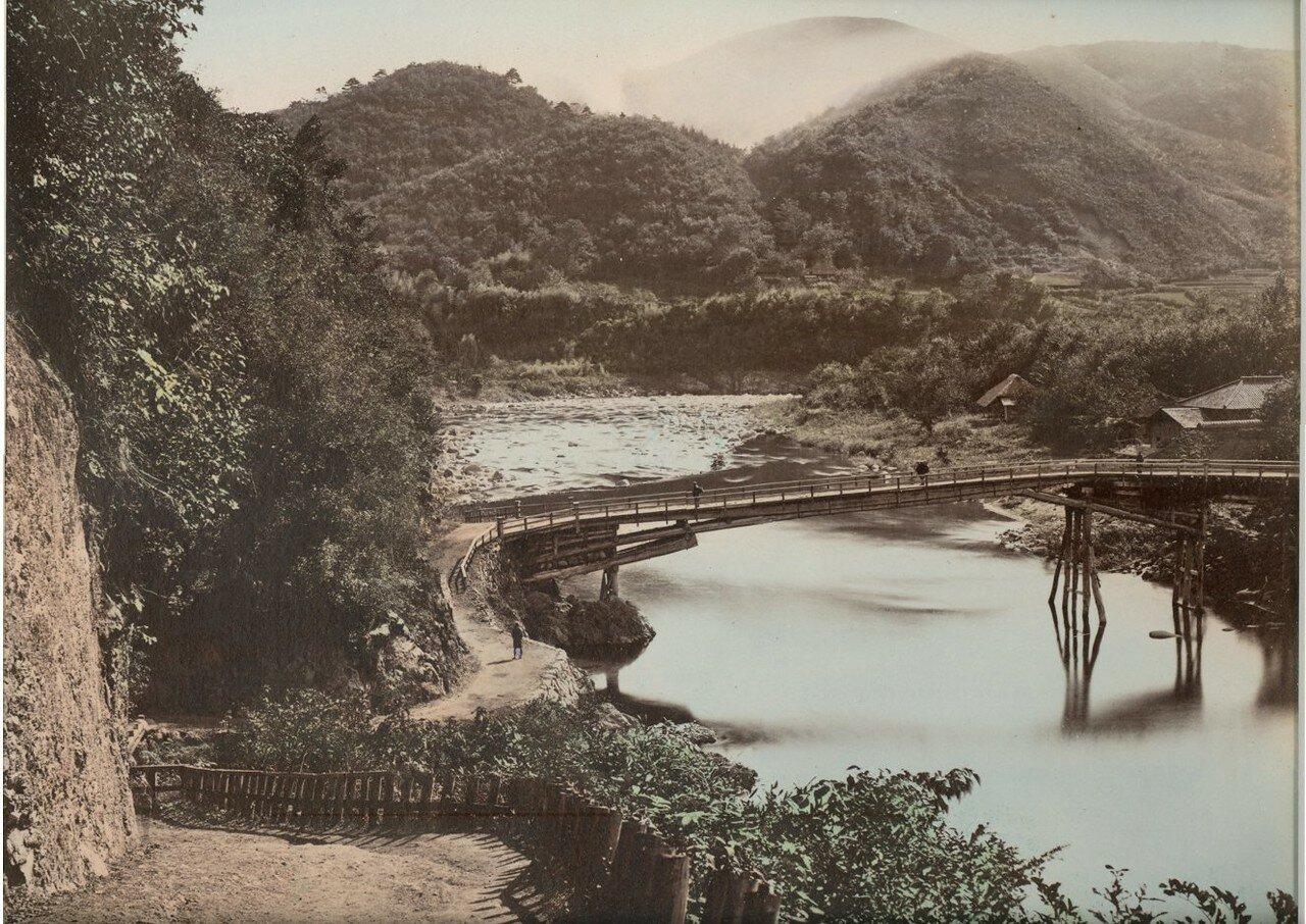 Мост Кирибара возле Омамы