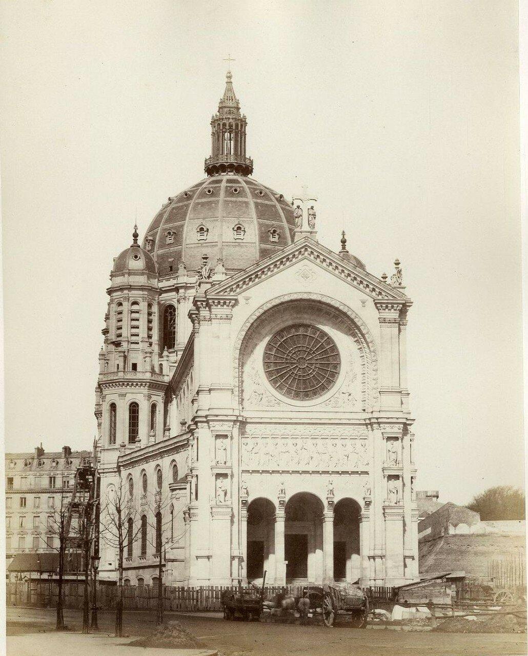 1880-е. Церковь Сент-Огюстен