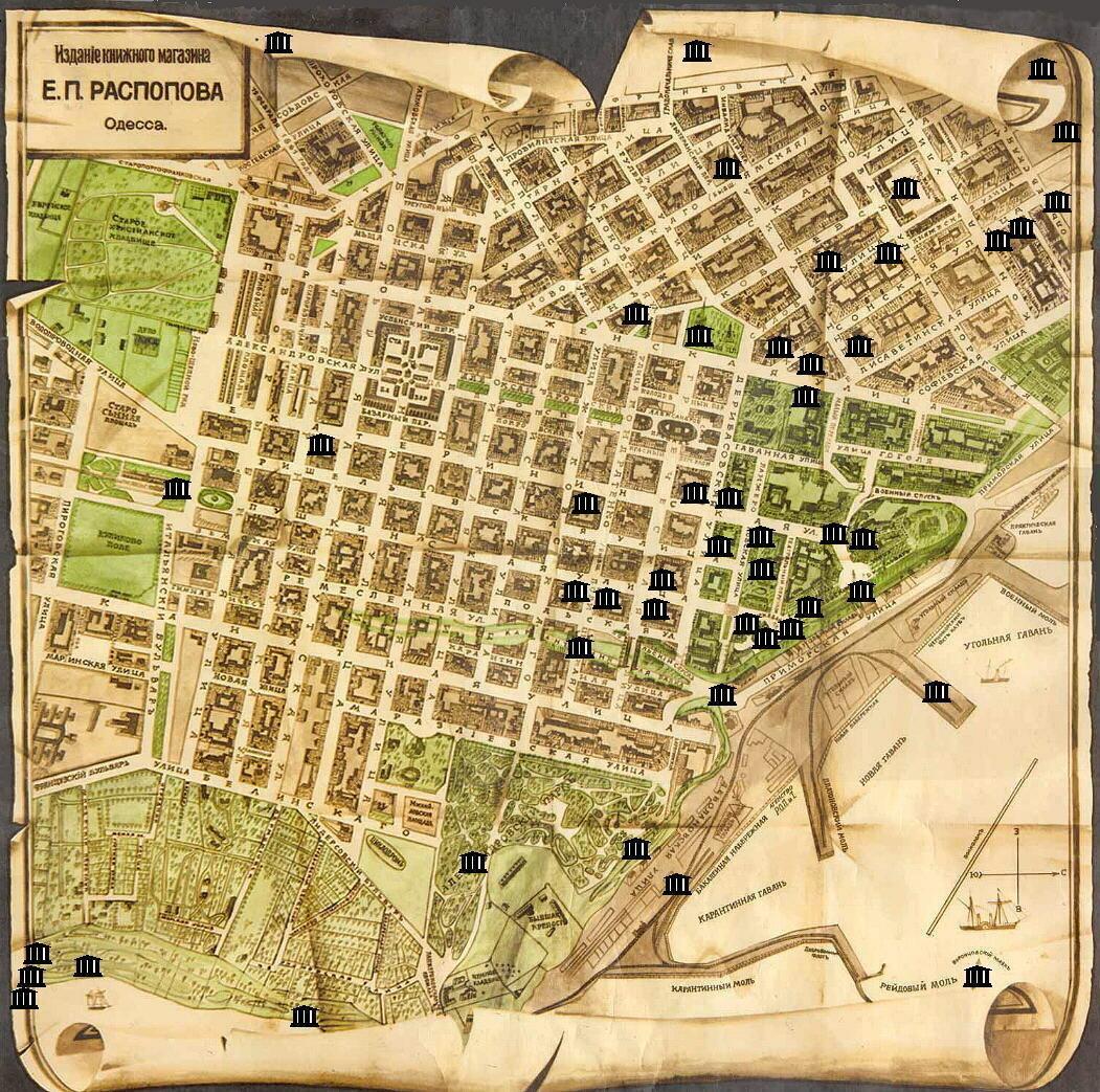 1811. План Одессы