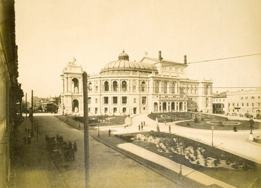 34. Одесса. Оперный театр