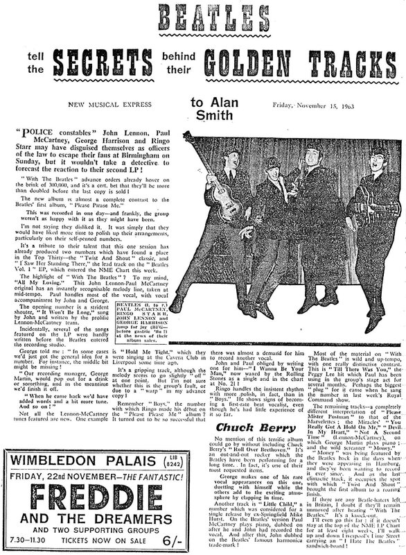 15 The Beatles - NME Review Of «With The Beatles» 15th November 1963.jpg