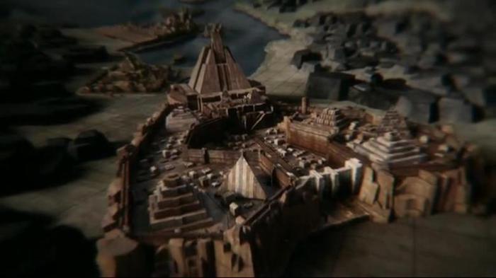 Панорамы городов и пейзажи в сериалах