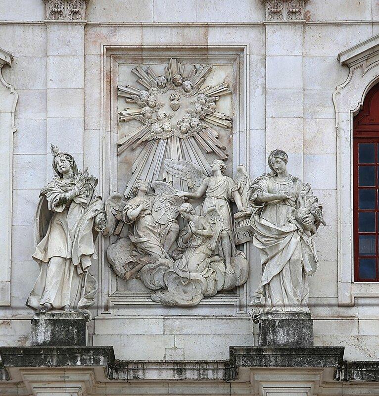 Lisbon. Basilica of the Star (Basílica da Estrela)