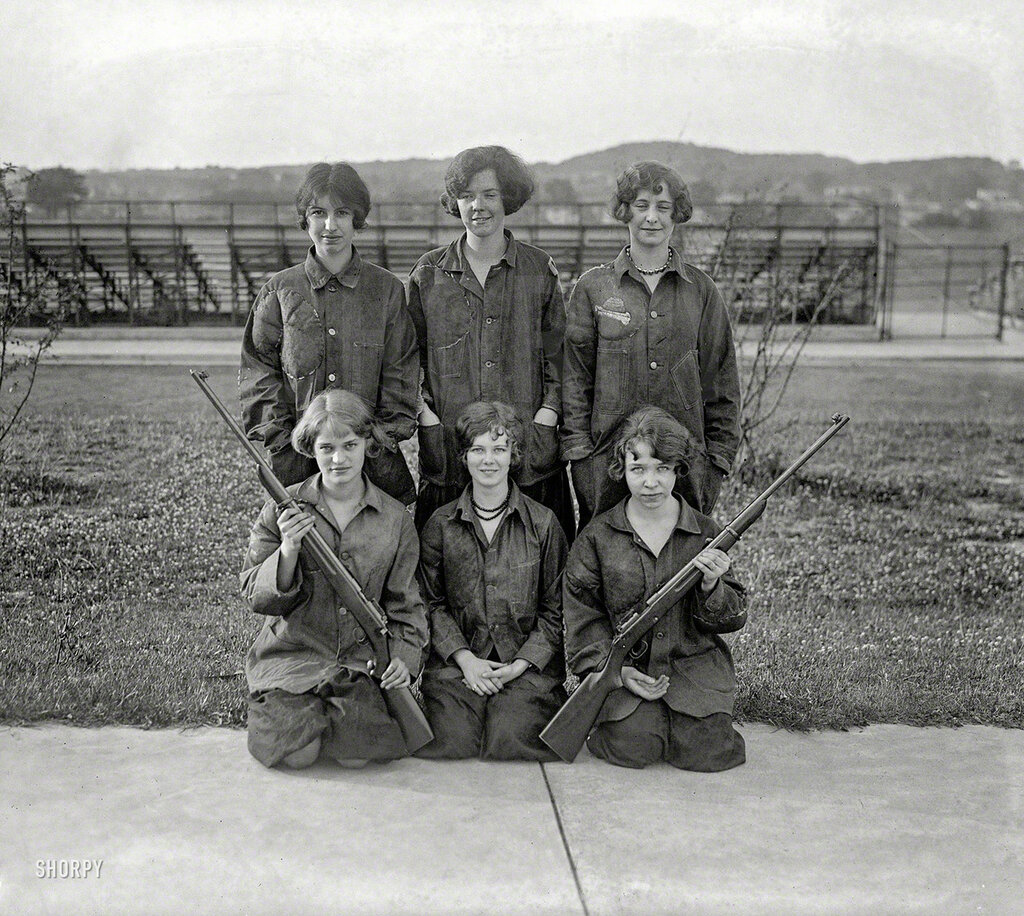 May 29, 1925. Central High Rifle Team