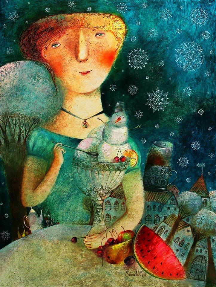 Анна Силивончик (Мороженое с фруктами).jpg